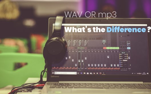 wav or mp3 - whats the difference - DAW Software running on laptop