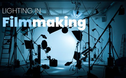 A Quick Guide to Lighting in Filmmaking - Film Set