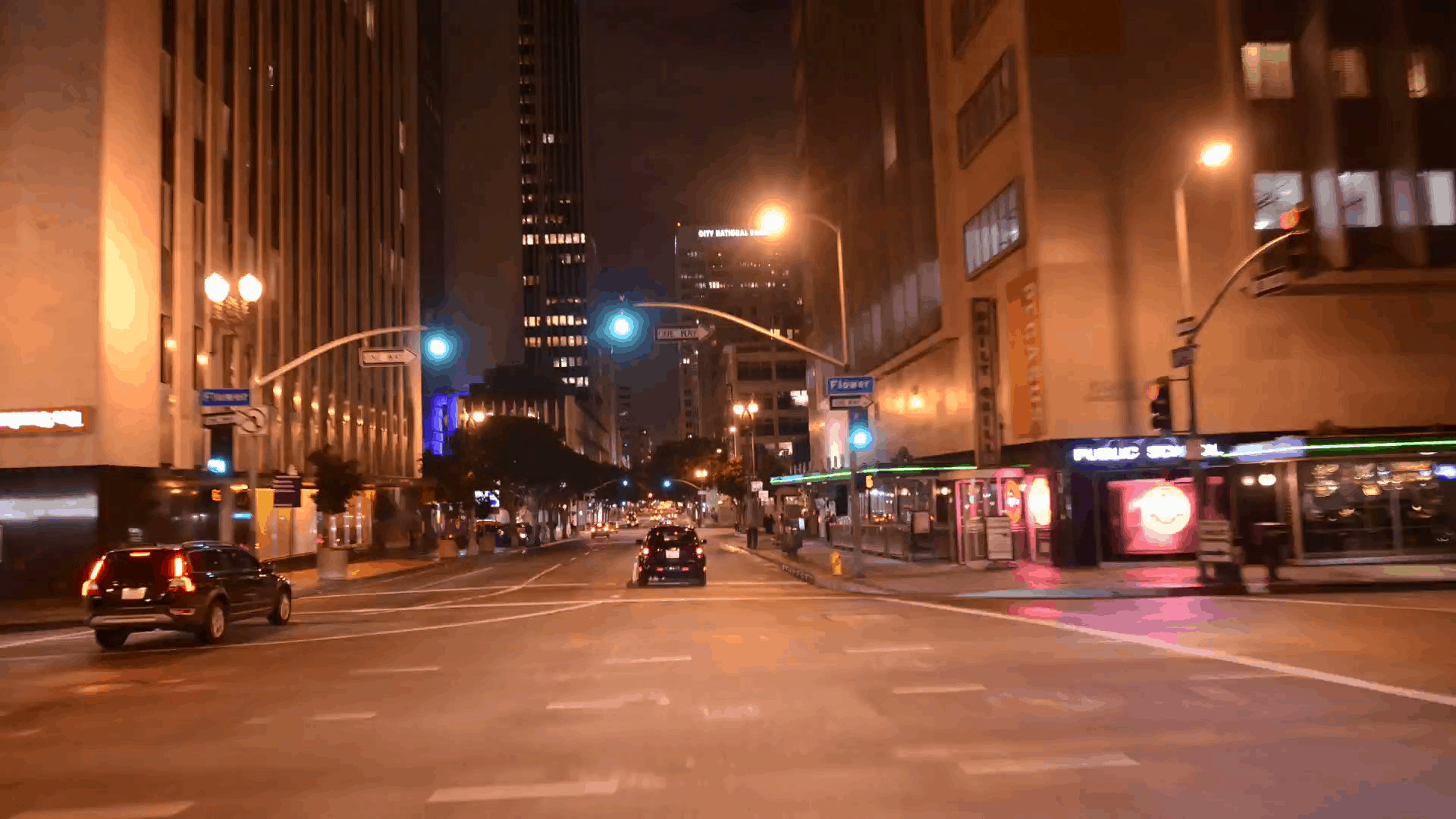 A Quick Guide for Lighting in Filmmaking - An image showing an example of street lighting
