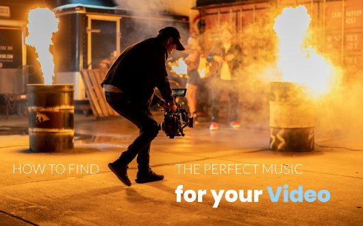 How to Find the Perfect Music for your Video - Camera Man Shoots Fire Scene