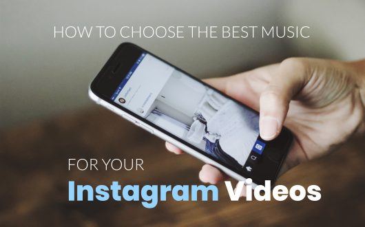 How to Choose the Best Music for Your Instagram Videos - Man holds smart phone