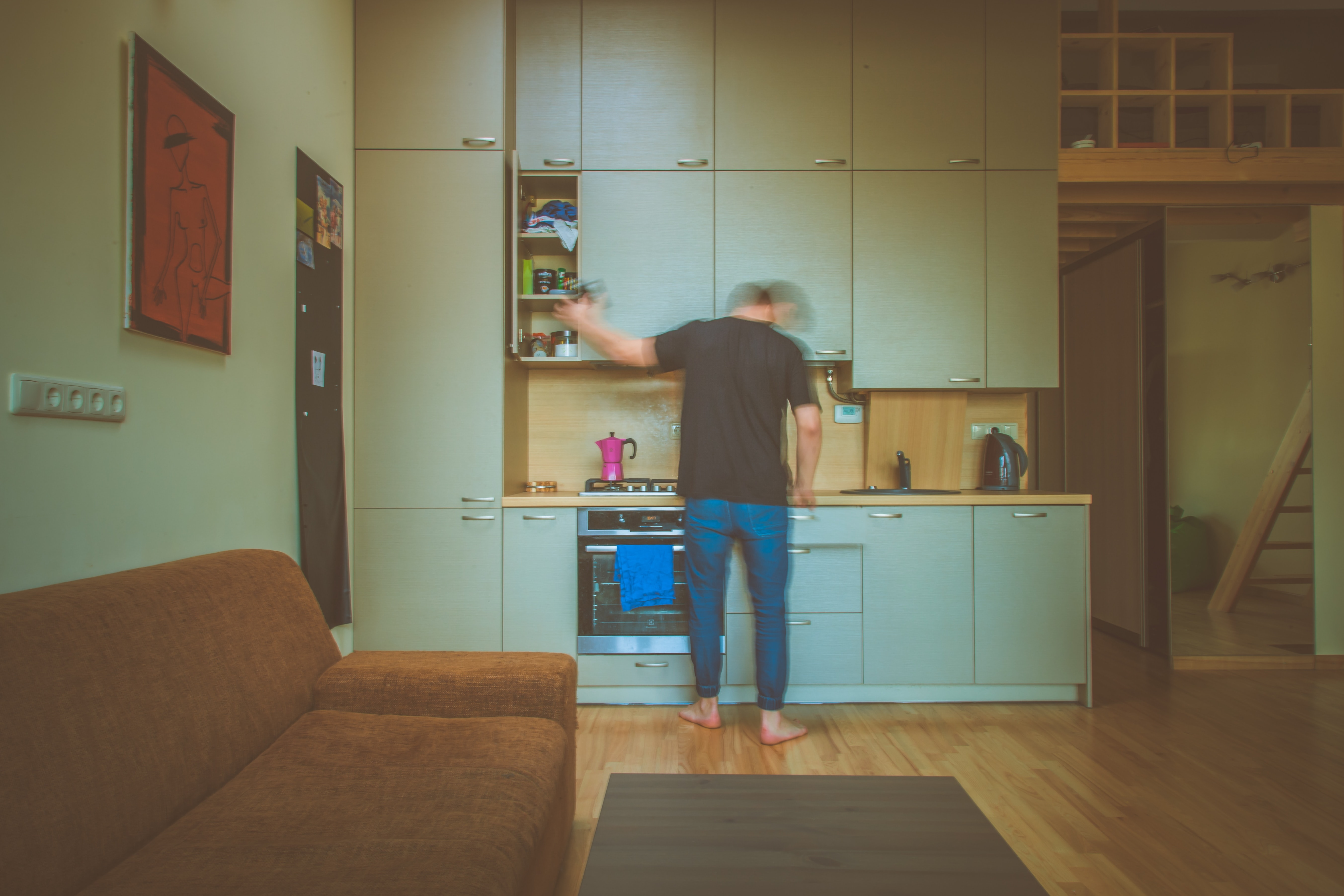15 Tips for Creating Great Marketing Videos - An image of a man in his kitchen