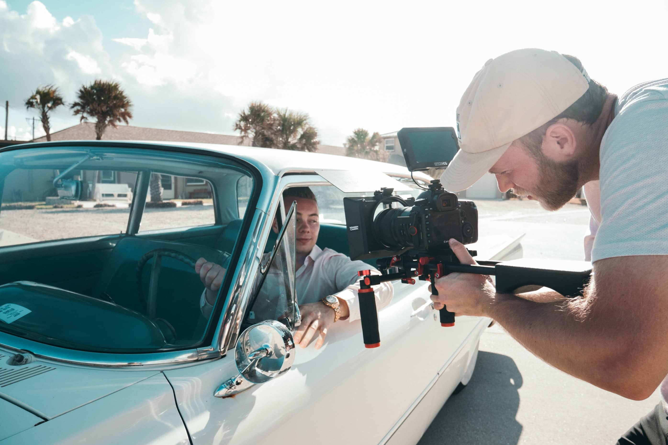The Ultimate Checklist For Filmmaking - An image of a movie shoot