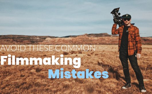 Avoid These Common Filmmaking Mistakes - Man holds camera