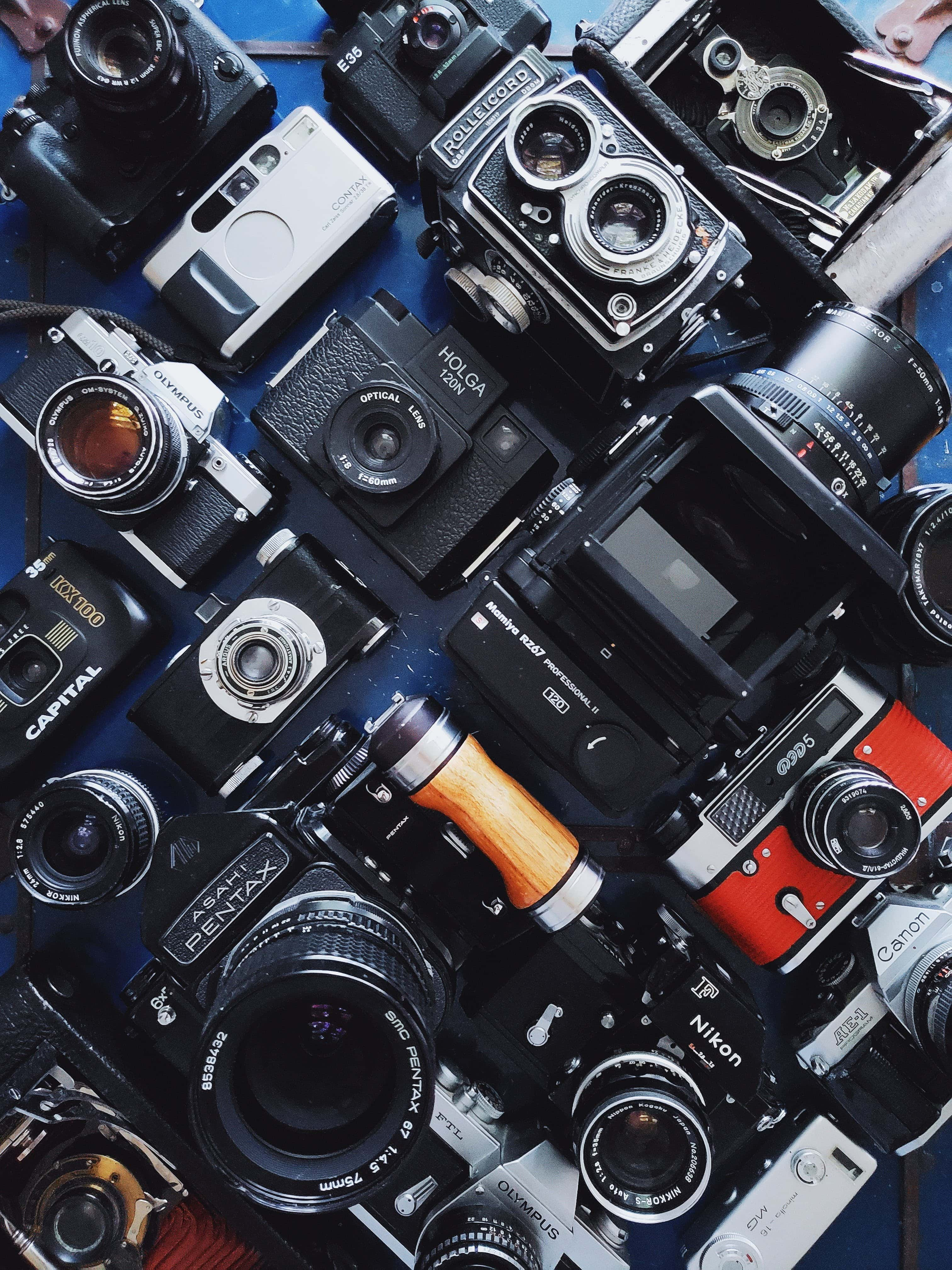 Filmmaking Trends in 2020 - An Image of Many Cameras
