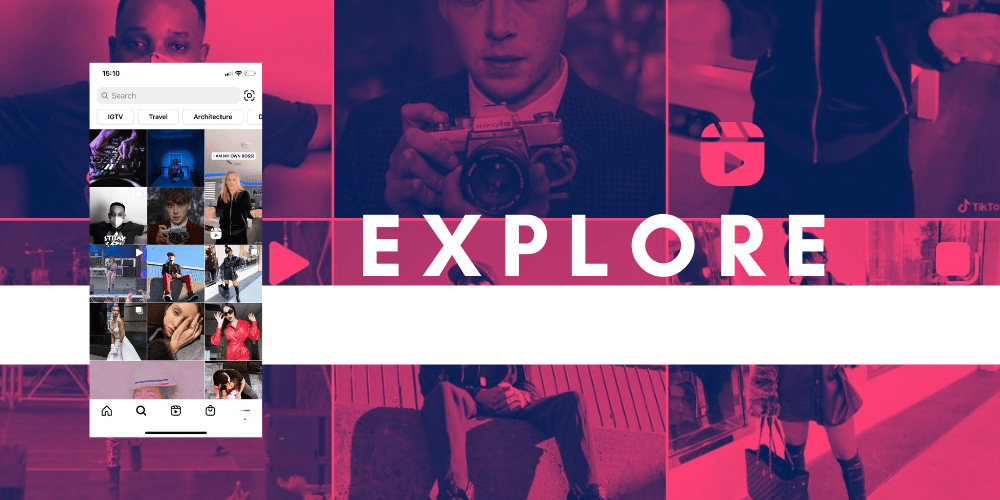 How to Create IGTV Videos - An image of Instagram Explore