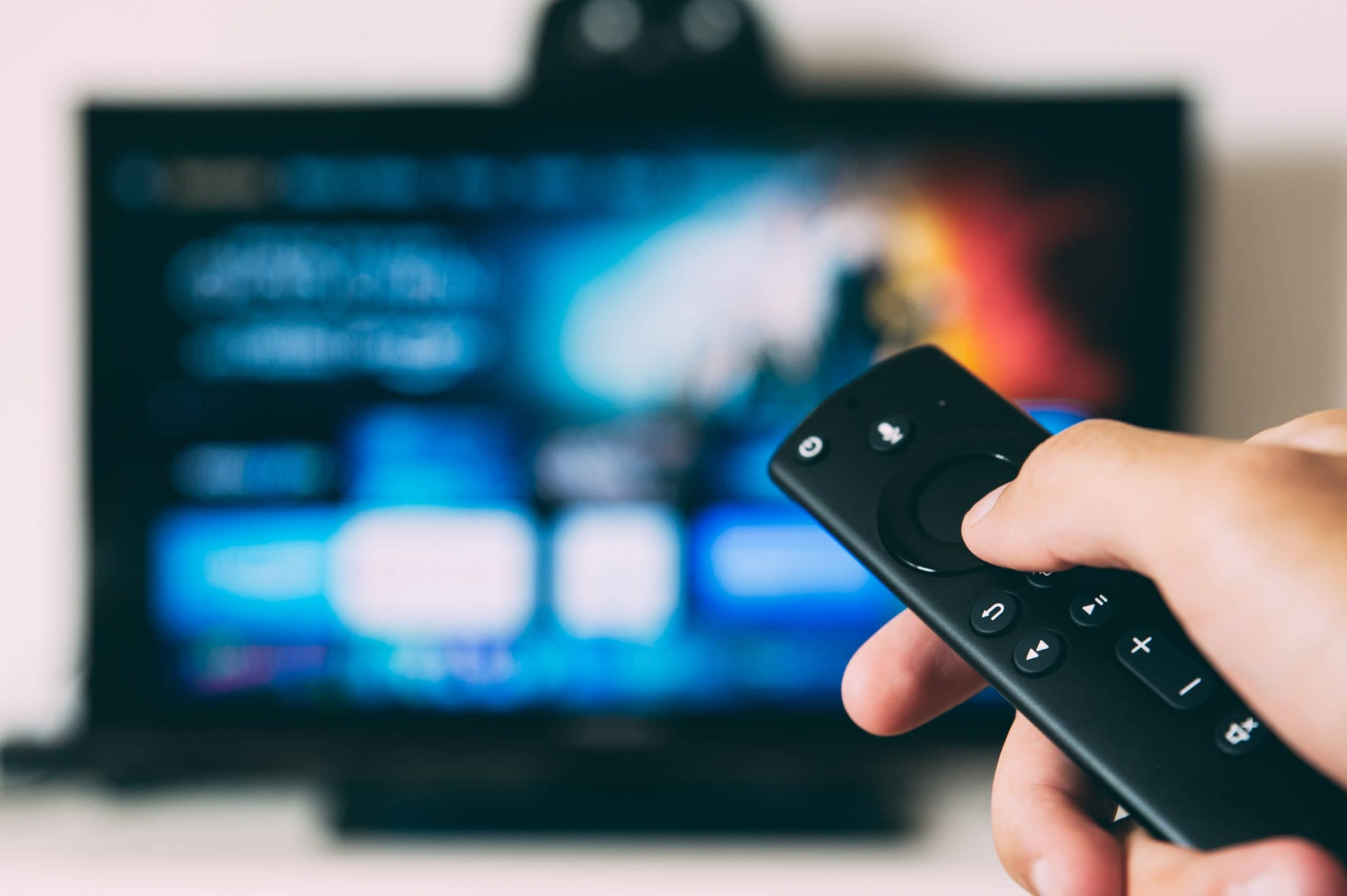 How to Create IGTV Videos - An image of someone watching TV