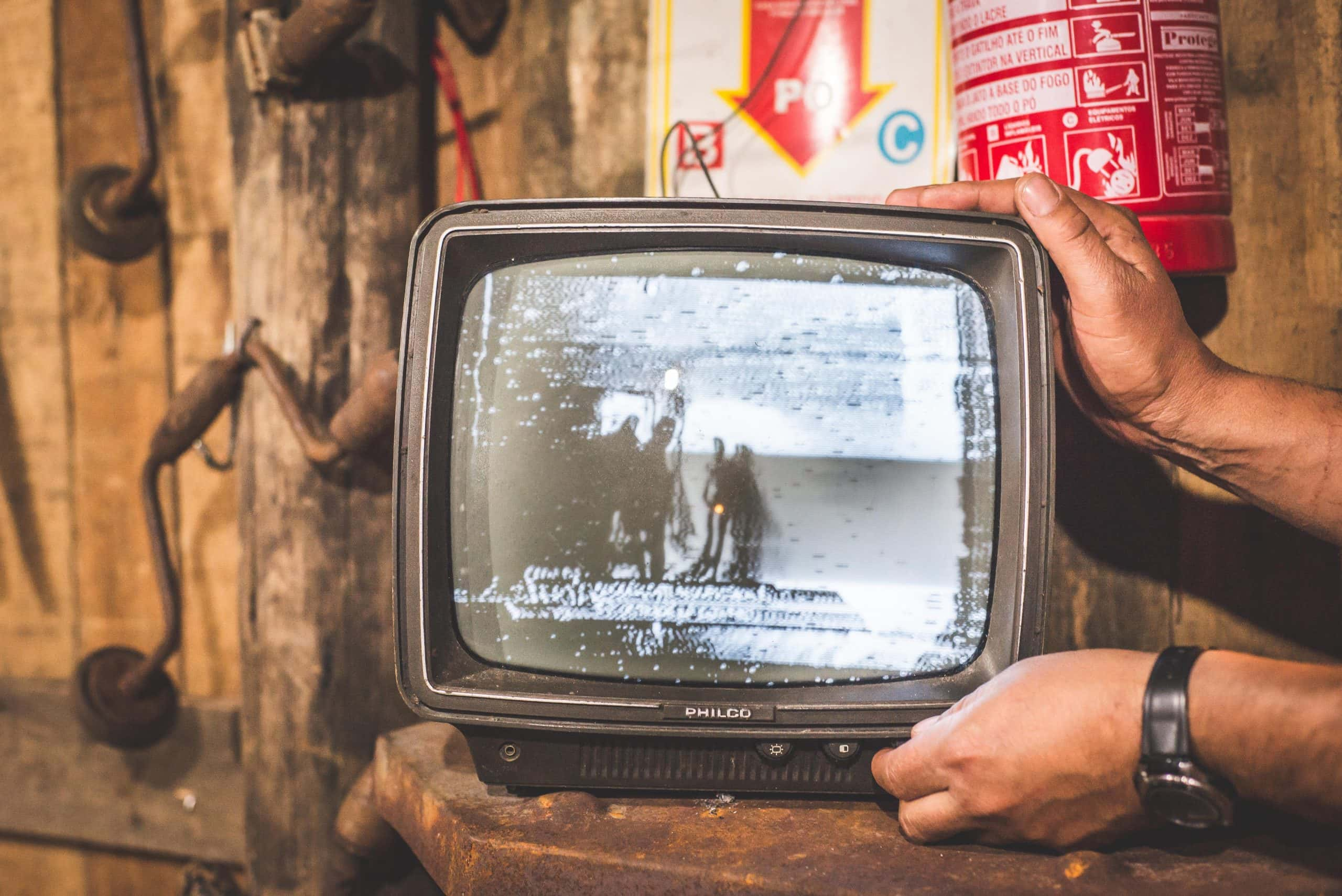 How to Create IGTV Videos - An image of an old TV set