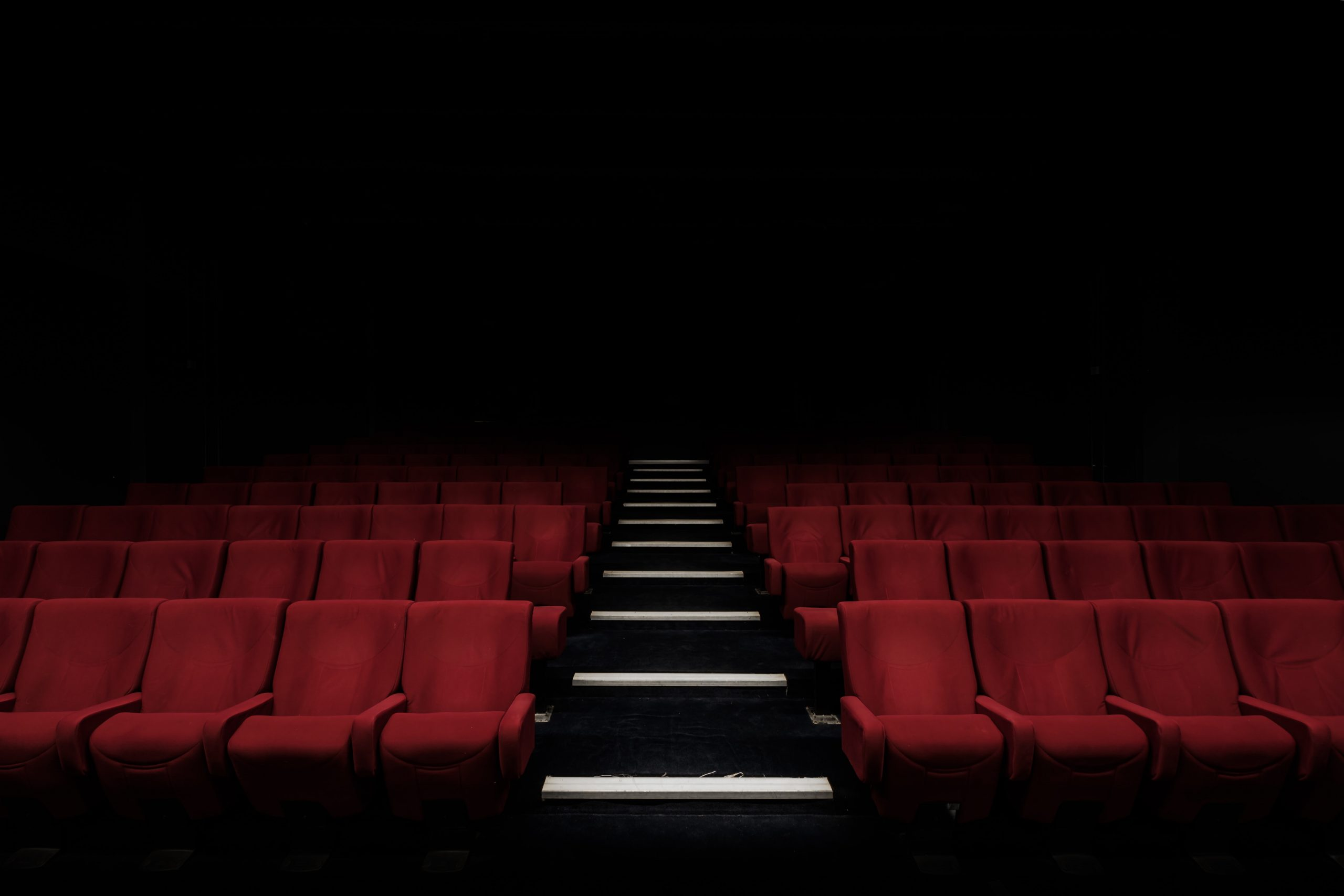 The Best Filmmaking Blogs in 2021 - An image of an empty movie theatre