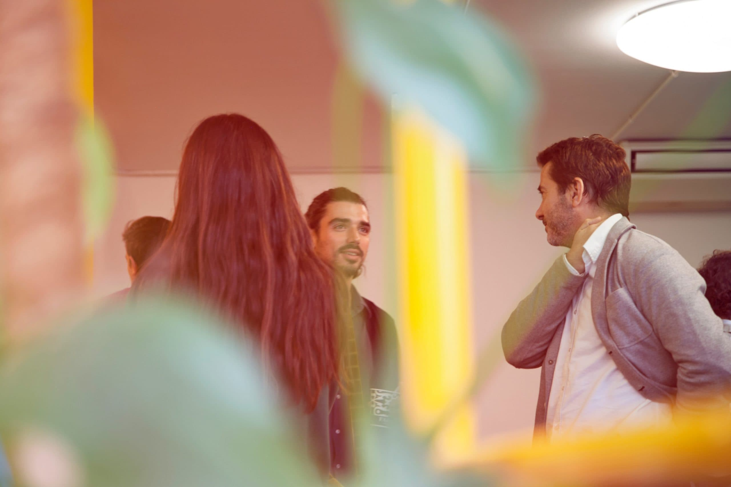 The Best Filmmaking Blogs in 2021 - An image of people at a networking event