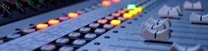 Mixing Board Recording Studio